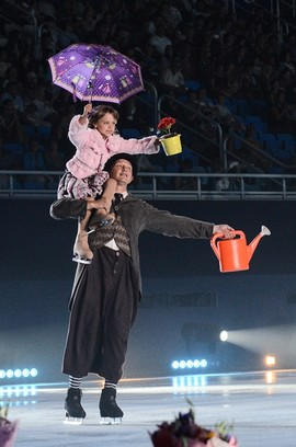 Марат Башаров, ледовое шоу-мюзикл Огни большого города