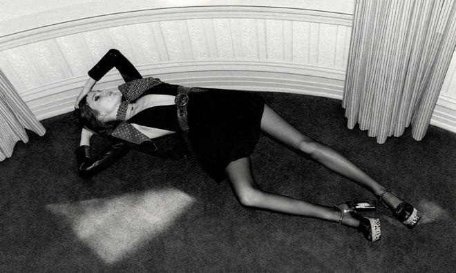 Худоба модели в рекламной кампании Saint Laurent вызвала возмущение