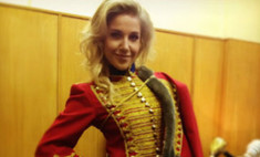 Юлия Ковальчук стала гусаром