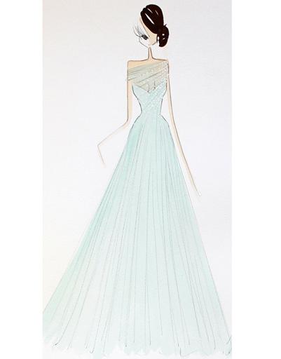 Платье Ralph & Russo для Тианы