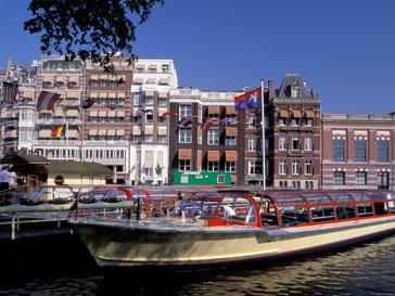 Вид на столицу Голландии