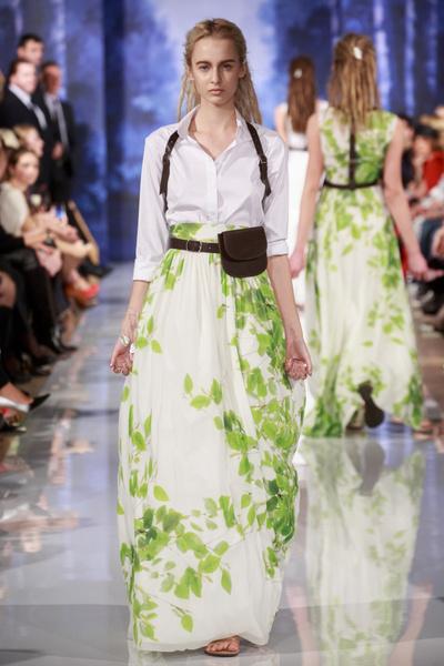показ весенне-летней коллекции A LA RUSSE Anastasia Romantsova