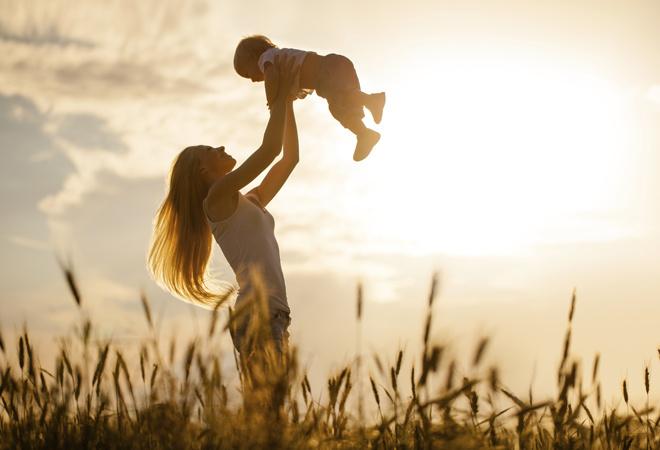 Мама и малыш фото