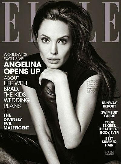 Анджелина Джоли, новая фотосессия