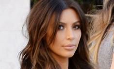 Ким Кардашьян в ужасе от своих волос