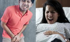 больнее удар пах мужчин рожать