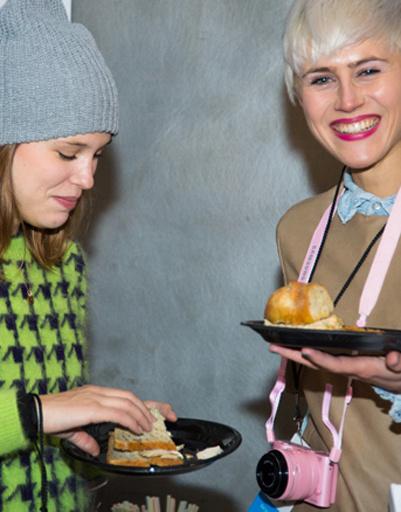 Вредное питание на Неделях моды