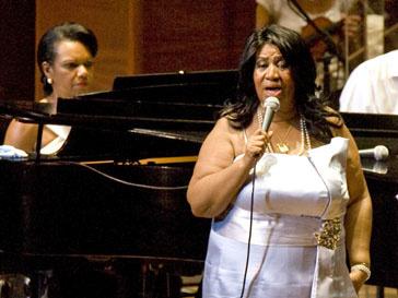 Арета Франклин (Aretha Franklin) возвращается