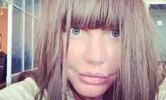 Малиновская экспериментирует с париками