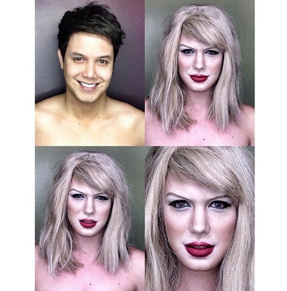 Филиппинский визажист перевоплотился в звезд с помощью макияжа   галерея [1] фото [13]