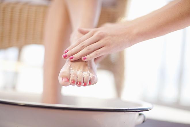 Косточки на пальцах ног