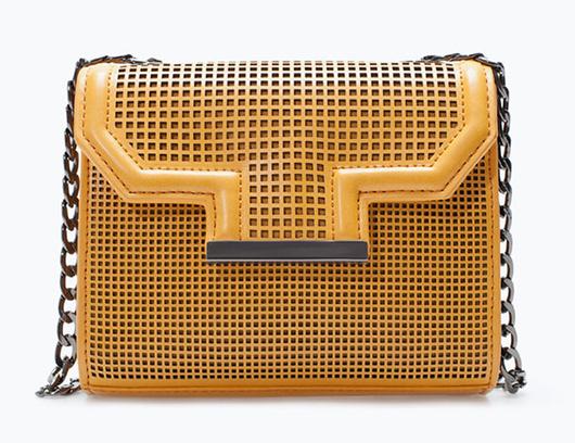 сумочка с перфорацией