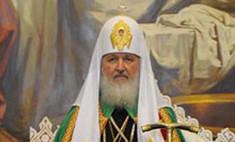 Патриарх Кирилл помолился о помощи погорельцам
