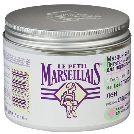 Маска Le Petit Marseillais питательная для нормальных волос фото