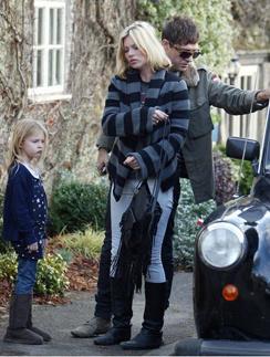 Кейт Мосс (Kate Moss) и Джейми Хинс