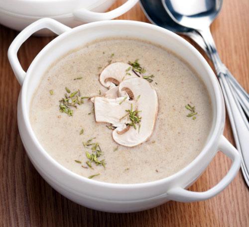Суп пюре с грибами в мультиварке