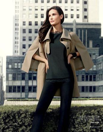Деми Мур в новой рекламной кампании Ann Taylor