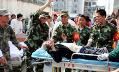 В Китае растет чисто жертв землетрясения
