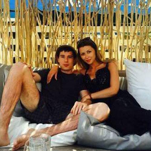 Анна Стрюкова с возлюбленным фото