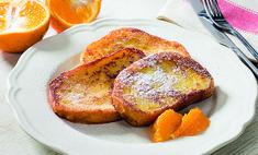 Апельсиновые гренки