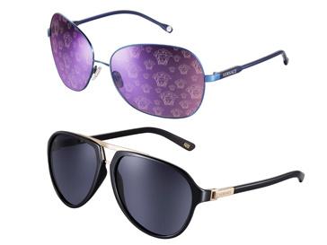 Коллекция солнцезащитных очков Versace, сезон весна-лето 2012