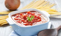 Как улучшить готовый томатный соус?