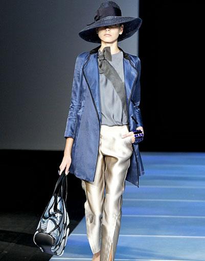 Giorgio Armani, коллекция весна-лето/2012