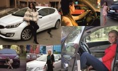 Красотки за рулем: топ-20 автоледи Оренбурга