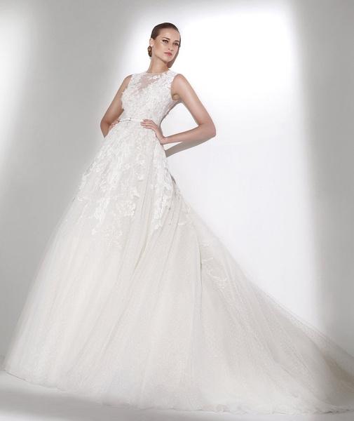 60 пышных свадебных платьев 2015 | галерея [1] фото [49]