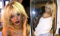 Рианна перекрасилась в платиновую блондинку