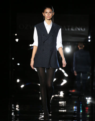 Mercedes-Benz Fashion Week Russia: коллекция Ozwald Boateng весна-лето 2013