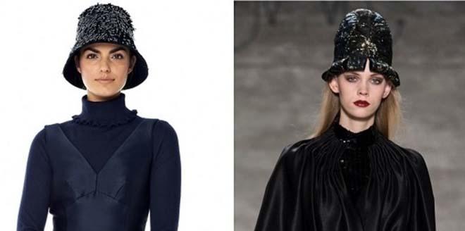 мода 2014 шляпа-клош