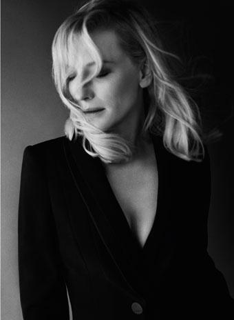 Кейт Бланшетт в новой рекламной кампании аромата Si от Giorgio Armani
