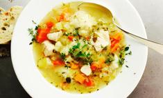 Пошаговый рецепт приготовления куриного супа с вермишелью