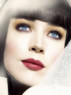 Вариант летнего макияжа Shiseido