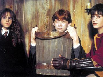 Кадра из фильма «Гарри Поттер и философский камень»
