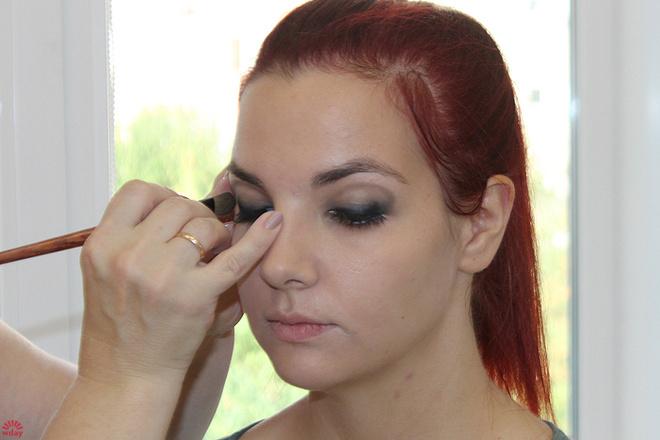 Мария Калинкина, макияж до и после, фото