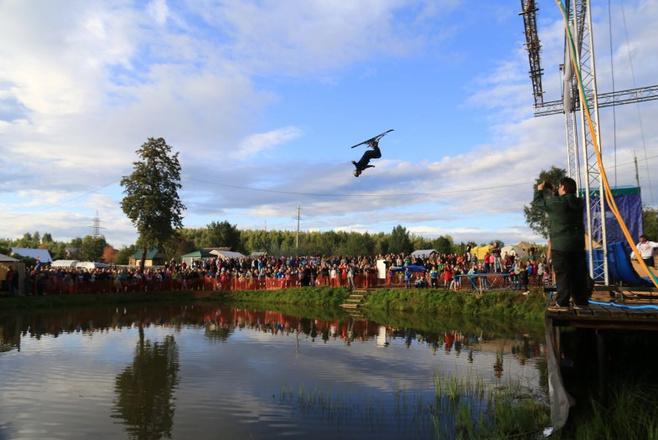 Летний фристайл в Чусовом