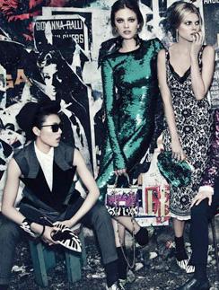 Рекламная кампания Dolce & Gabbana, сезон осень-зима 2011/2012