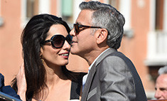 Клуни устроил предсвадебную вечеринку. Фото