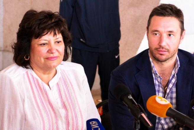 Илья Ковальчук в Твери с мамой