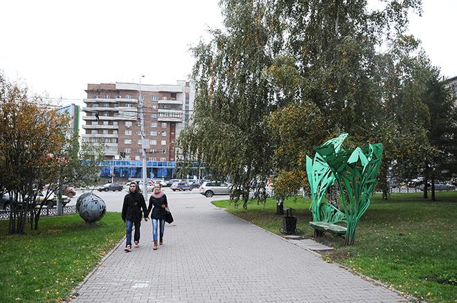 Места для прогулок в Новосибирске аллея бардов