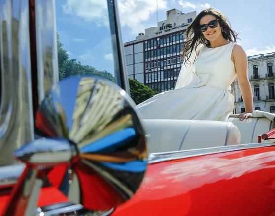 Дина Гарипова фото с медового месяца