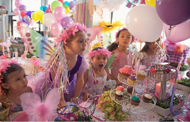 сценарий ко дню рождения девочки дома