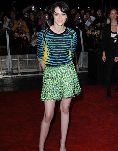 """Кристен Стюарт (Kristen Stewart) на вчеринке в честь премьеры фильма """"Сумерки. Сага. Новолуние"""", 2009 год"""