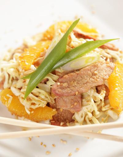 Куриный салат по-тайски