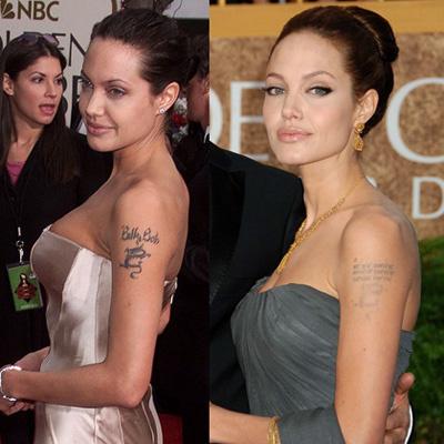 Анджелина Джоли стерла имя экс-супруга из памяти и с плеча