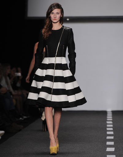 Показ коллекции Dasha Gauser осень-зима 2013/14 на Mercedes-Benz Fashion Week Russia