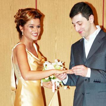 Ксения Бородина с мужем Юрием