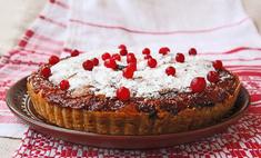 Готовим вкусный пирог с брусникой